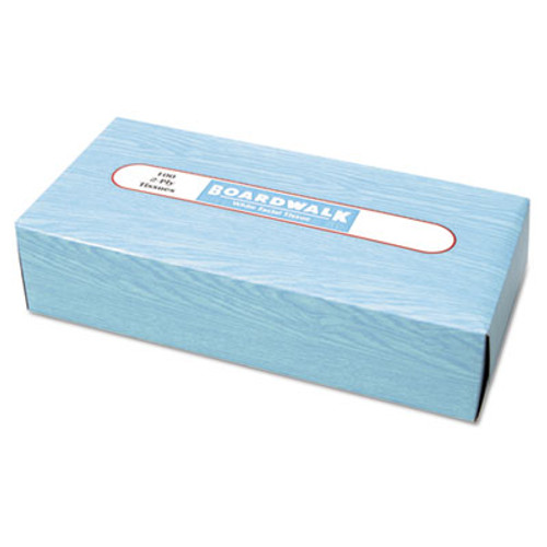 Boardwalk Office Packs Facial Tissue, Flat Box, 100 Sheets/Box, 30 Boxes/Carton (BWK 6500)