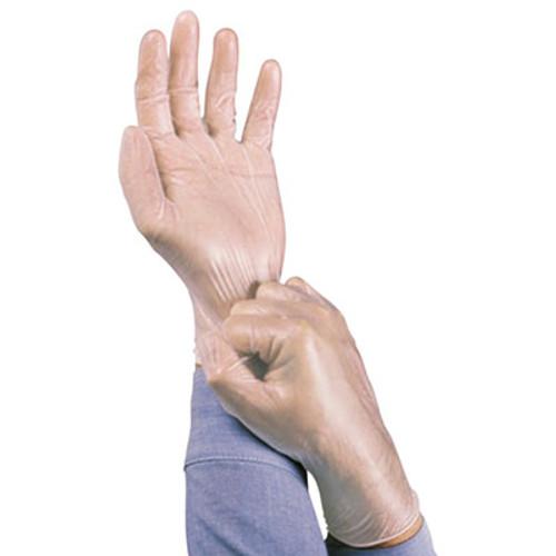 AnsellPro Dura-Touch 5 mil PVC Disposable Gloves, Medium, Clear, 100/Box (ANS34725M)