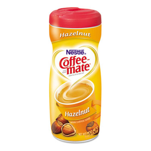 Coffee-mate Hazelnut Creamer Powder, 15oz Plastic Bottle (NES12345)