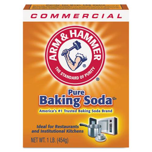 Arm & Hammer Baking Soda, 1lb Box, 24/Carton (CDC 33200-84104)