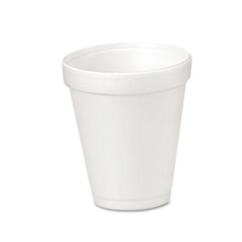 Dart Foam Drink Cups, 4oz, 25/Bag, 40 Bags/Carton (DCC 4J4)