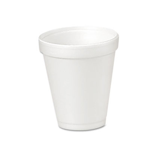 Dart Foam Drink Cups, 4oz, 25/Bag, 40 Bags/Carton (DCC 4J4)