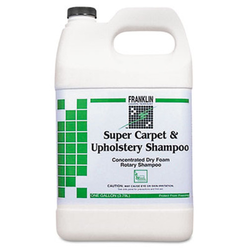 Franklin Cleaning Technology Super Carpet & Upholstery Shampoo, 1gal Bottle, 4/Carton (FRK F538022)