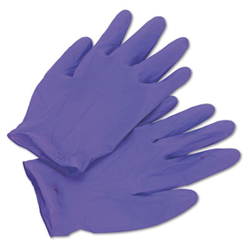 Kimberly-Clark Professional* PURPLE NITRILE Exam Gloves, 242 mm Length, X-Large, Purple, 90/Box (KCC 55084)