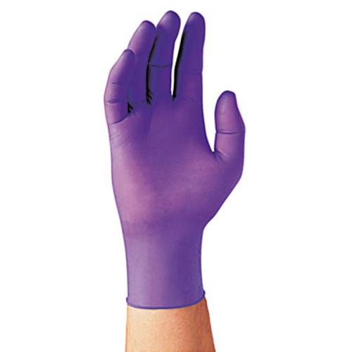 Kimberly-Clark Professional* PURPLE NITRILE Exam Gloves, 242 mm Length, Large, Purple, 100/Box (KCC 55083)