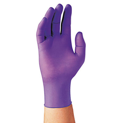 Kimberly-Clark Professional* PURPLE NITRILE Exam Gloves, 242 mm Length, Large, Purple, 100/Box (KCC 55083)