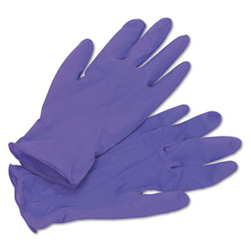 Kimberly-Clark Professional* PURPLE NITRILE Exam Gloves, 242 mm Length, Medium, Purple, 100/Box (KCC 55082)