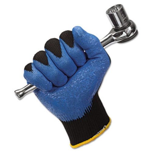Jackson Safety* G40 Nitrile Coated Gloves, 250 mm Length, X-Large/Size 10, Blue, 12 Pairs (KCC 40228)