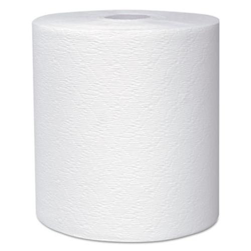 "Kleenex Hard Roll Towels, 8 x 600ft, 1 3/4"" Core dia, White, 6 Rolls/Carton (KCC 50606)"