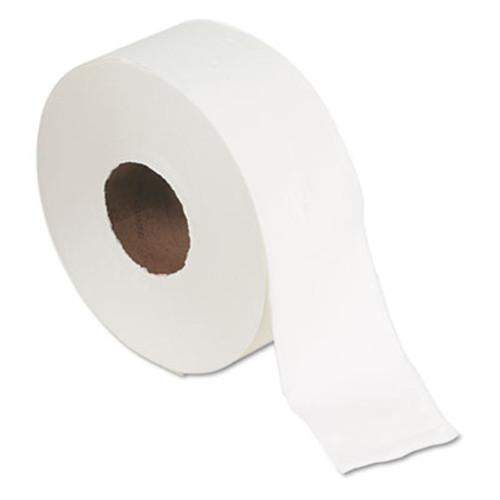 "Georgia Pacific Jumbo Jr. Bath Tissue Roll, 9"" diameter, 1000ft, 8 Rolls/Carton (GPC 137-28)"