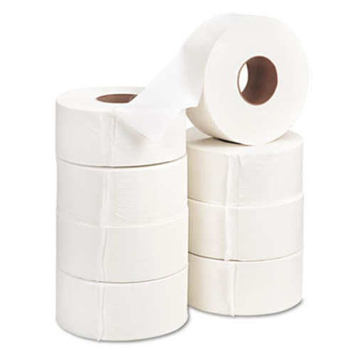 "Georgia Pacific Jumbo Jr. Bath Tissue Roll, 9"" diameter, 1000ft, 8 Rolls/Carton (GPC 137-28)"