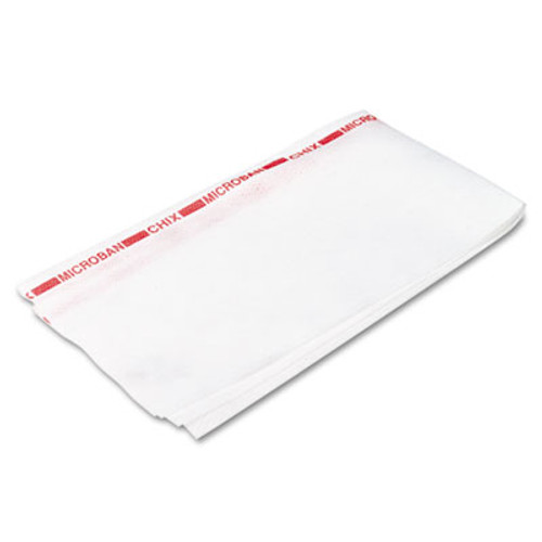 Chix Reusable Food Service Towels, Fabric, 13 1/2 x 24, White, 150/Carton (CHI 8250)