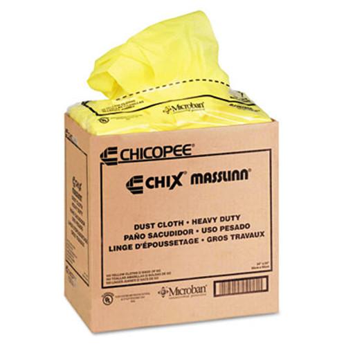Chix Masslinn Dust Cloths, 24 x 24, Yellow, 50/Bag, 2 Bags/Carton (CHI 0911)