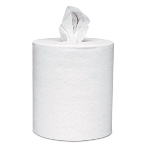 Scott Roll-Control Center-Pull Towels, 8 x 12, White, 700/Roll, 6 Rolls/Carton (KCC 01032)