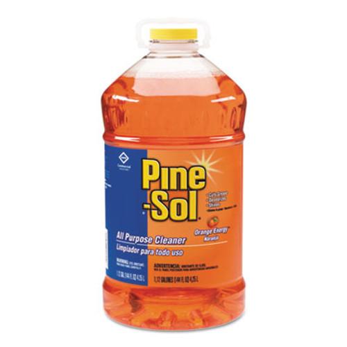 Pine-Sol All-Purpose Cleaner, Orange Energy, 144 oz Bottle, 3/Carton (CLO 41772)