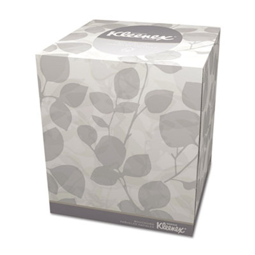 Kleenex Boutique White Facial Tissue, 2-Ply, Pop-Up Box, 95 Tissues/Box (KCC 21270)