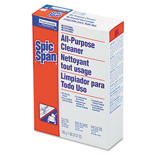 Spic and Span All-Purpose Floor Cleaner, 27 oz Box, 12/Carton (PGC 31973)