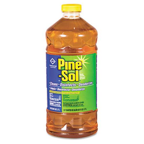 Pine-Sol Multi-Surface Cleaner Disinfectant, Pine, 60oz Bottle, 6 Bottles/Carton (CLO 41773)