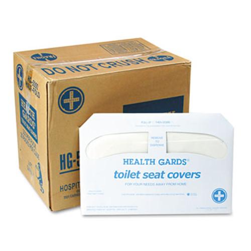 HOSPECO Health Gards Toilet Seat Covers, White, 250 Covers/Pack, 20 Packs/Carton (HOS HG-5000)