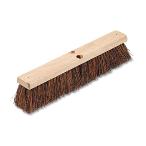"Boardwalk Floor Brush Head, 3 1/4"" Natural Palmyra Fiber, 18"" (BWK 20118)"