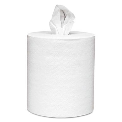 Scott Center-Pull Paper Roll Towels, Absorbency Pockets, 1Ply, 8x15, 500/Roll, 4 Rl/Ct (KCC 01051)