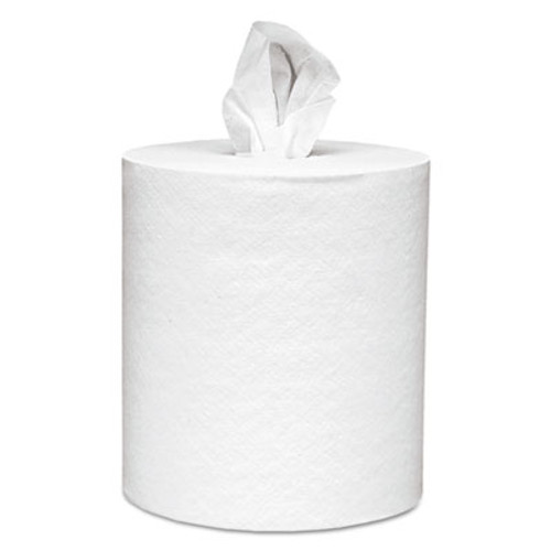 Scott Center-Pull Paper Roll Towels, Absorbency Pockets, 1Ply, 8x15, 500/Roll, 4 Rl/Ct (KCC 01051)