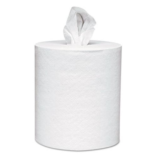 Scott Center-Pull Towels, 8 x 15, White, 500 Sheets/Roll, 4 Rolls/Carton (KCC 01010)