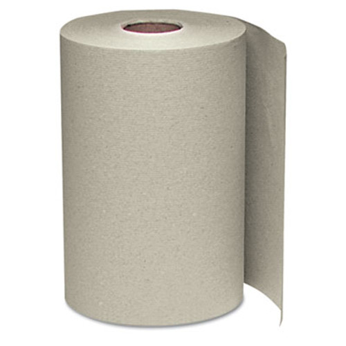 Windsoft Nonperforated Paper Towel Roll, 8 x 350ft, Brown, 12 Rolls/Carton (WIN 108)