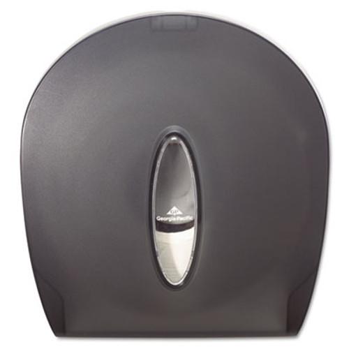 Georgia Pacific Jumbo Jr. Bathroom Tissue Dispenser, 10 3/5x5 39/100x11 3/10, Translucent Smoke (GPC 590-09)
