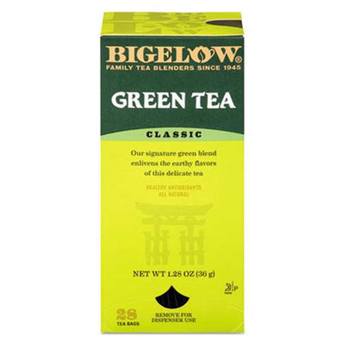 Bigelow Single Flavor Tea, Green, 28 Bags/Box (BTC00388)