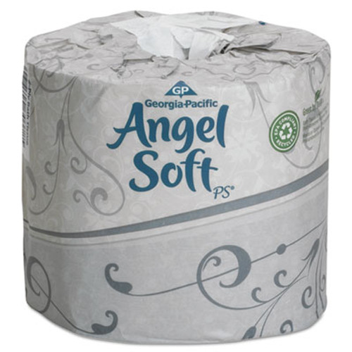 Georgia Pacific Angel Soft ps Premium Bathroom Tissue, 450 Sheets/Roll, 40 Rolls/Carton (GPC16840)