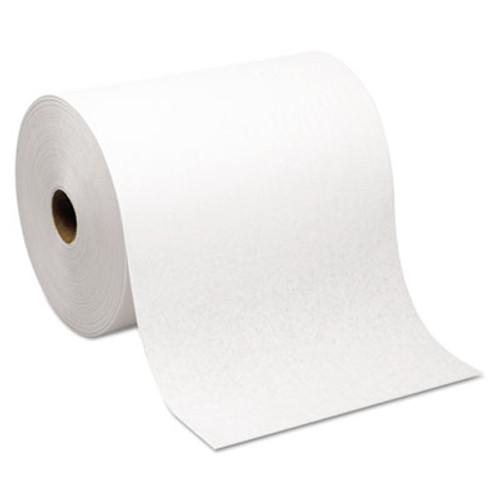 Georgia Pacific Hardwound Roll Paper Towel, Nonperforated, 7.87 x 1000ft, White, 6 Rolls/Carton (GPC 264-70)