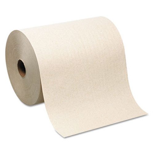 Georgia Pacific Hardwound Roll Paper Towel, Nonperforated, 7.87 x 1000ft, Brown, 6 Rolls/Carton (GPC 264-80)