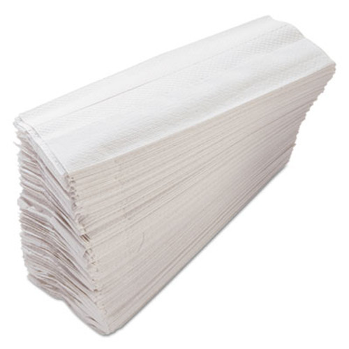 Morcon Paper C-Fold Paper Towels, 10 x 12 1/4, White, 200 Towels/Pack, 12 Packs/Carton (MOR C122)