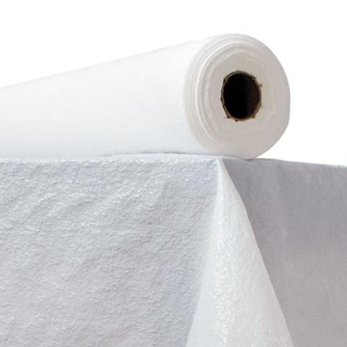 """Atlantis Plastics Plastic Table Cover, 40"""" x 300ft, White (ATL2TCWPBL)"""