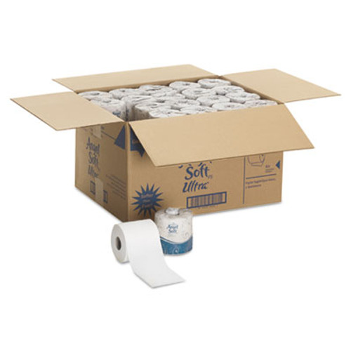 Georgia Pacific Ultra Two-Ply Premium Bathroom Tissue, White, 60 Rolls/Carton (GPC 165-60)