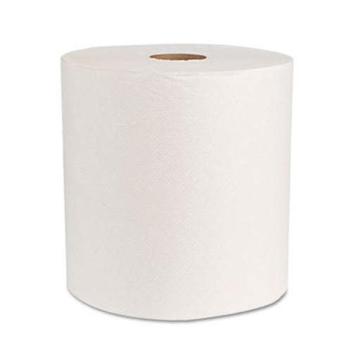 "Boardwalk Boardwalk Green Universal Roll Towels, Natural White, 8""x800ft, 6 Rolls/Carton (BWK 17GREEN)"