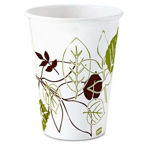 Dixie Pathways Wax Treated Paper Cold Cups, 5oz, 2400/Carton (DIX 58PATH)
