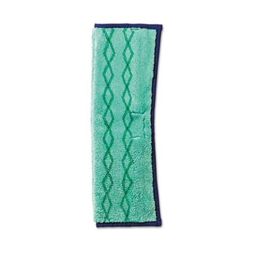 Rubbermaid HYGEN Microfiber Dust and Wet Mop Plus, Green/Blue (RCP 1791679)