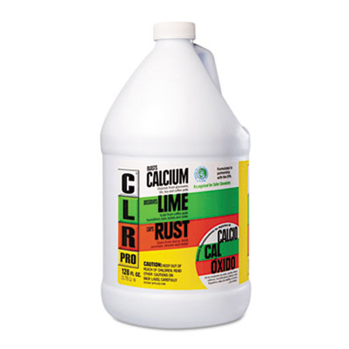 CLR Calcium, Lime and Rust Remover, 1 gal Bottle (JEL CL-4PRO)
