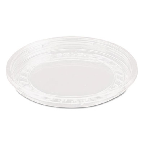 Dart Bare Eco-Forward RPET Deli Container Lids, 8oz, Clear, 50/Pack, 10 Packs/Carton (SCC LG8R)