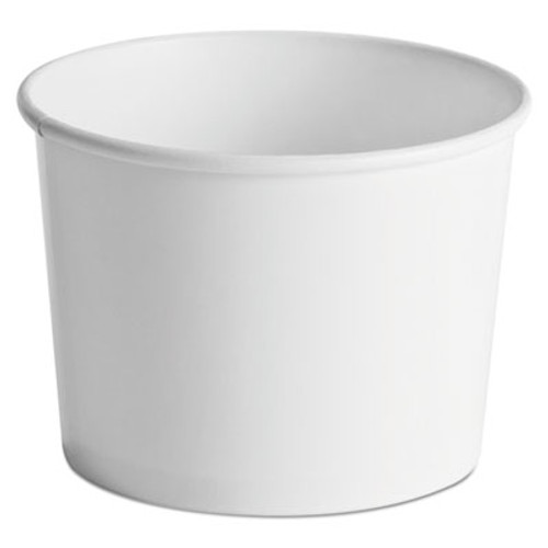 Chinet Paper Food Containers, 64oz, White, 25/Pack, 10 Packs/Carton (HUH 60164)