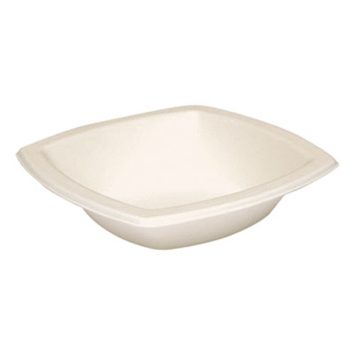 Dart Bare Eco-Forward Sugarcane Dinnerware, 12oz, Bowl, Ivory, 125/Pk, 8 Pks/Ct (SCC 12BSC)