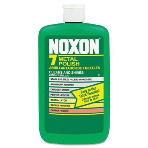 Reckitt Benckiser Noxon 7 Metal Polish, Liquid, 12 oz. Bottle (REC 00117)