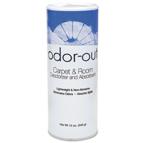 Fresh Products Odor-Out Rug/Room Deodorant, Lemon, 12oz, Shaker Can, 12/Box (FRS 12-14-00LE)