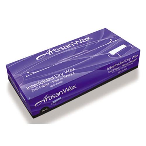 Bagcraft WF12 Interfolded DryWax Deli Paper, 12 x 10 3/4, White, 500/Box, 12 Boxes/Carton (BGC 012012)