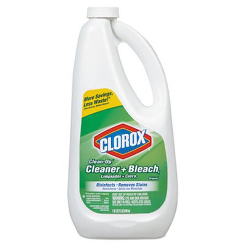 Clorox Clean-Up Bleach Cleaner, 32 oz Refill Bottle, 9/Carton (CLO 01240)