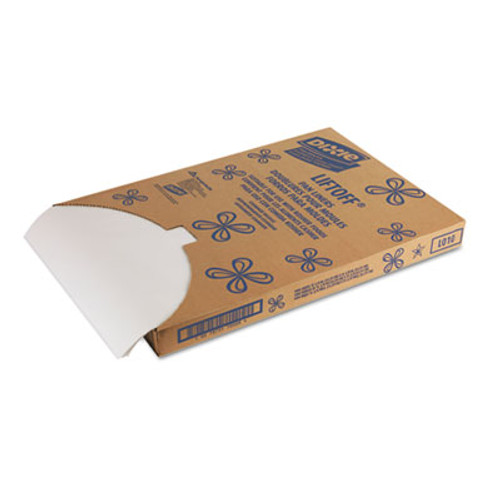 Dixie Greaseproof Liftoff Pan Liners, 16 3/8 x 24 3/8, White (DIX LO10)