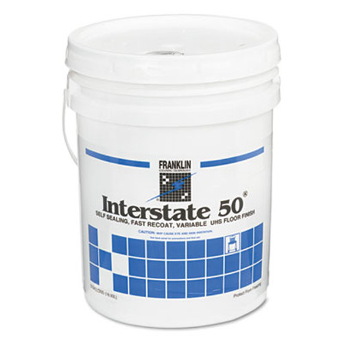 Franklin Cleaning Technology Side-Out Gym Floor Finish, 5gal Pail (FKLF193026)