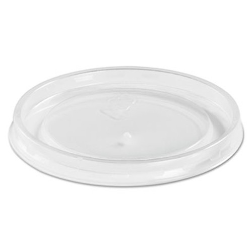 Chinet High Heat Vented Plastic Lids, Fits All Sizes: 6-16 oz, Translucent, 50/Bag (HUH 89107)